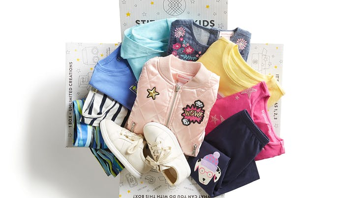 Hey, Moms: Stitch Fix Now Offers Personal Styling Boxes for Kids