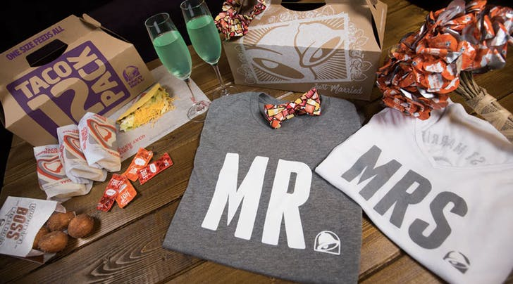Taco Bell Sells Wedding Accessories, and We're All Wondering…Why?