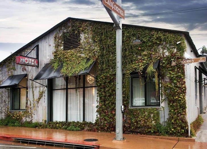 the butler hotel california vines Moss