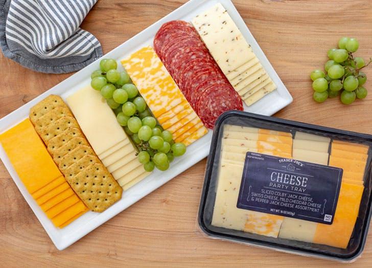 trader joes cheesy party tray