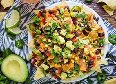 vegan loaded nachos recipe 290