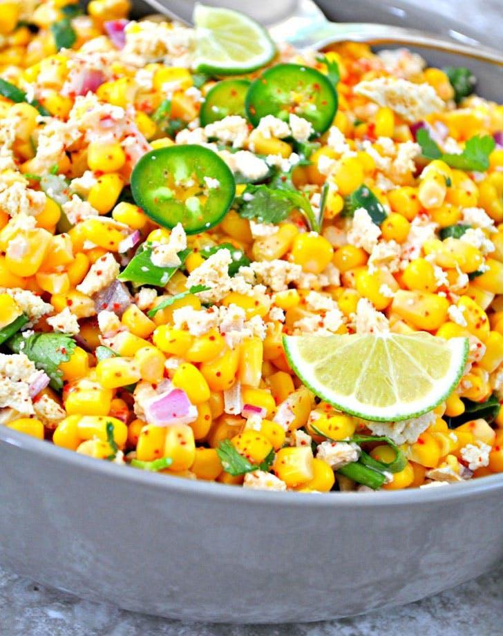 vegan mexican street corn recipe
