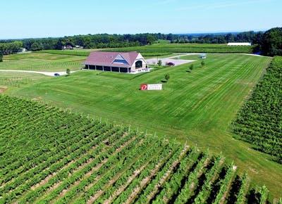 wine country michigan grass barn 400