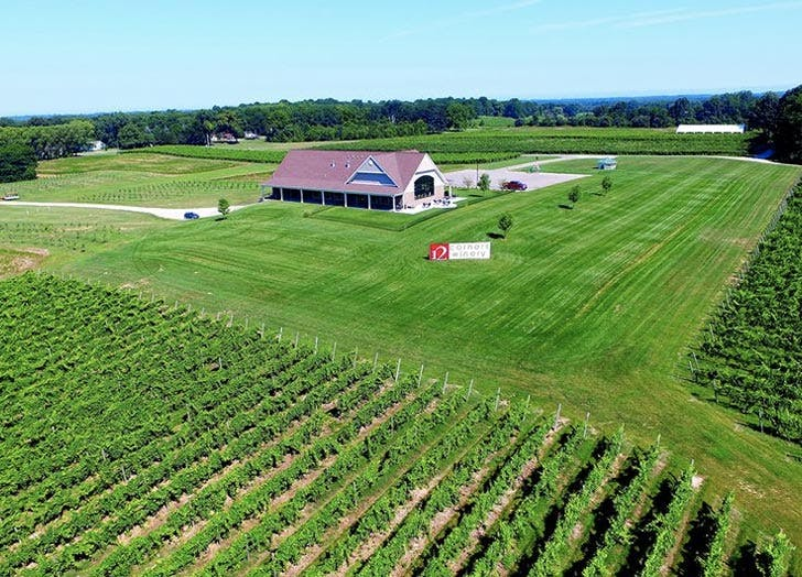 wine country michigan grass barn list