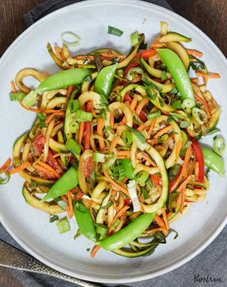 zoodle stir fry