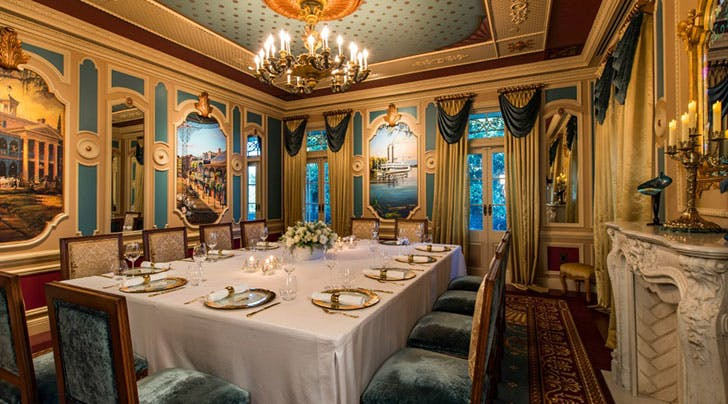 Here's What Happens at 21 Royal, Disneyland's 7-Course Private Dining Experience