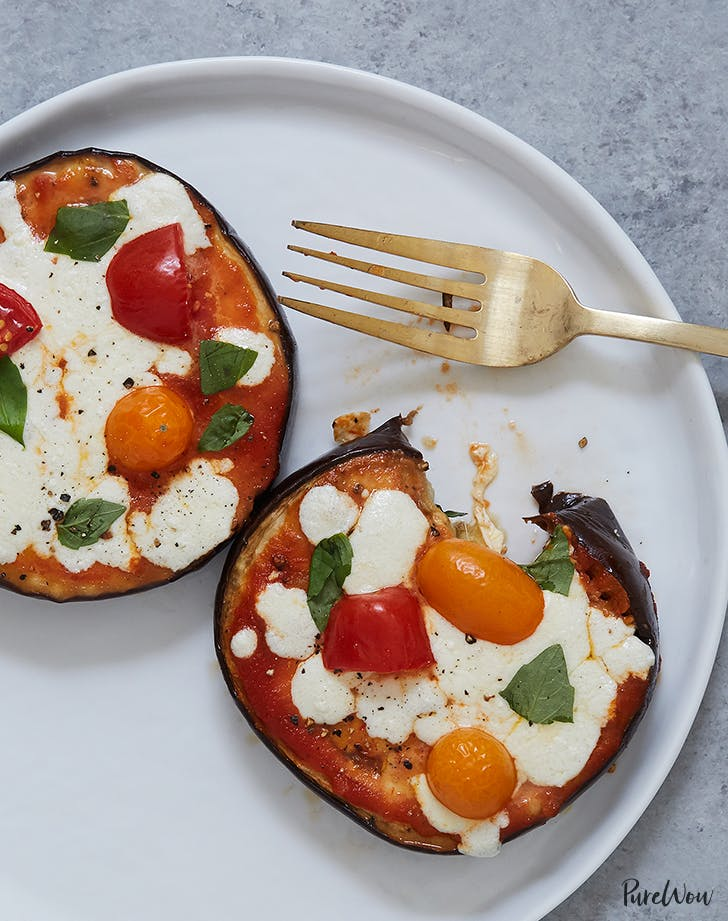 Crustless Eggplant Pizza recipe