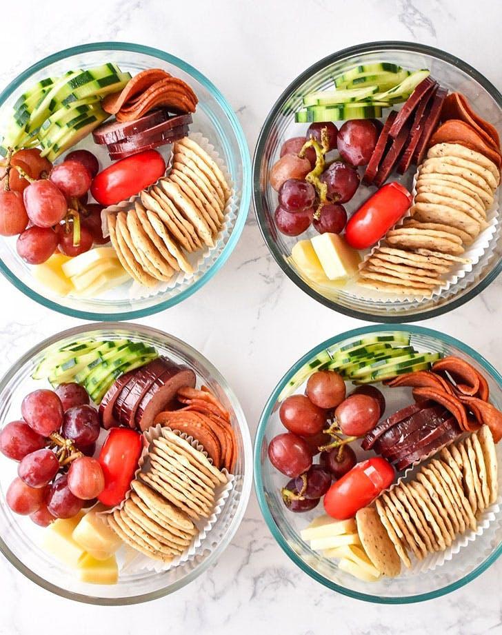 DIY lunchables recipe