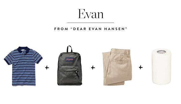 Evan hansen diy kids costume