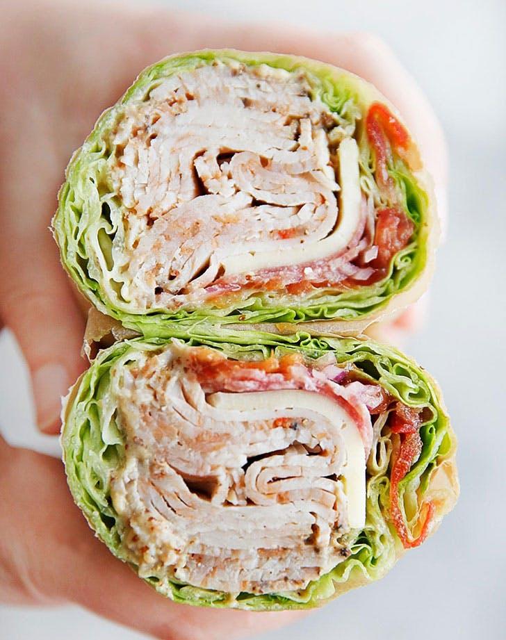 Lettuce Wrap sandwiches recipe