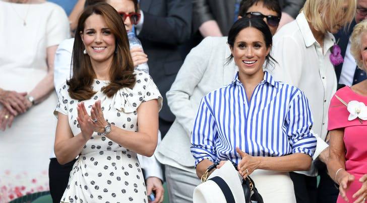 Meghan Markle & Kate Middleton Use a Simple Hack to Stop Their Dresses from Flying Up