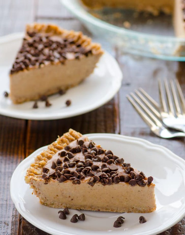 Peanut Butter Pie clean eating recipe
