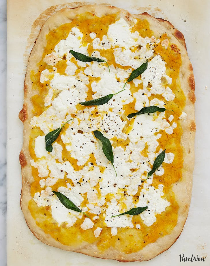 Pizza with Butternut Squash Sauce recipe