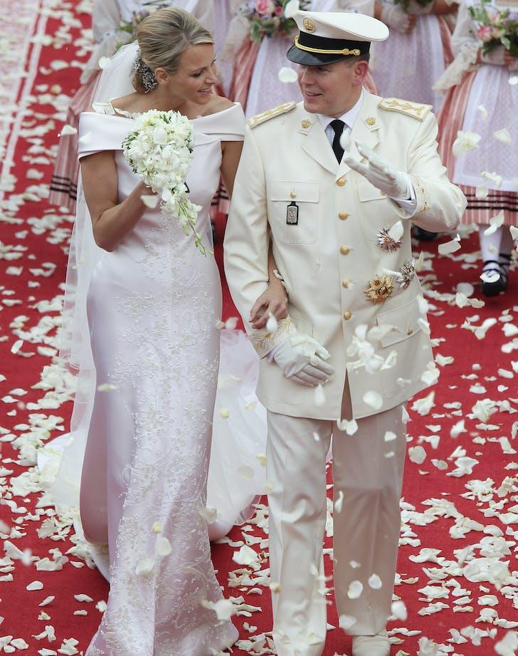 Princess Charlene Prince Albert Wedding