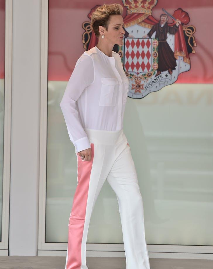 Princess Charlene at Monaco Grand Prix