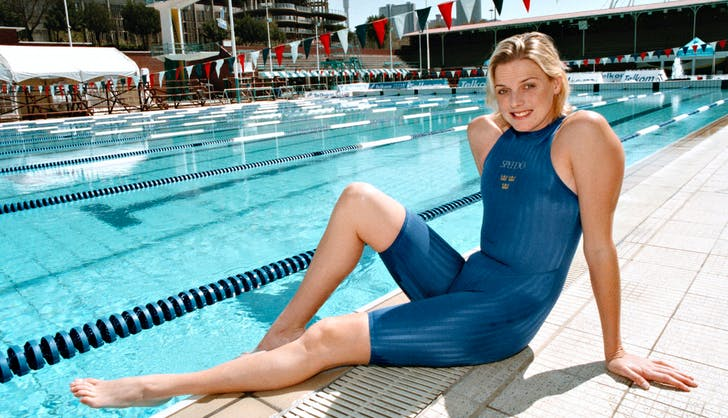 Princess Charlene olympic swimmer