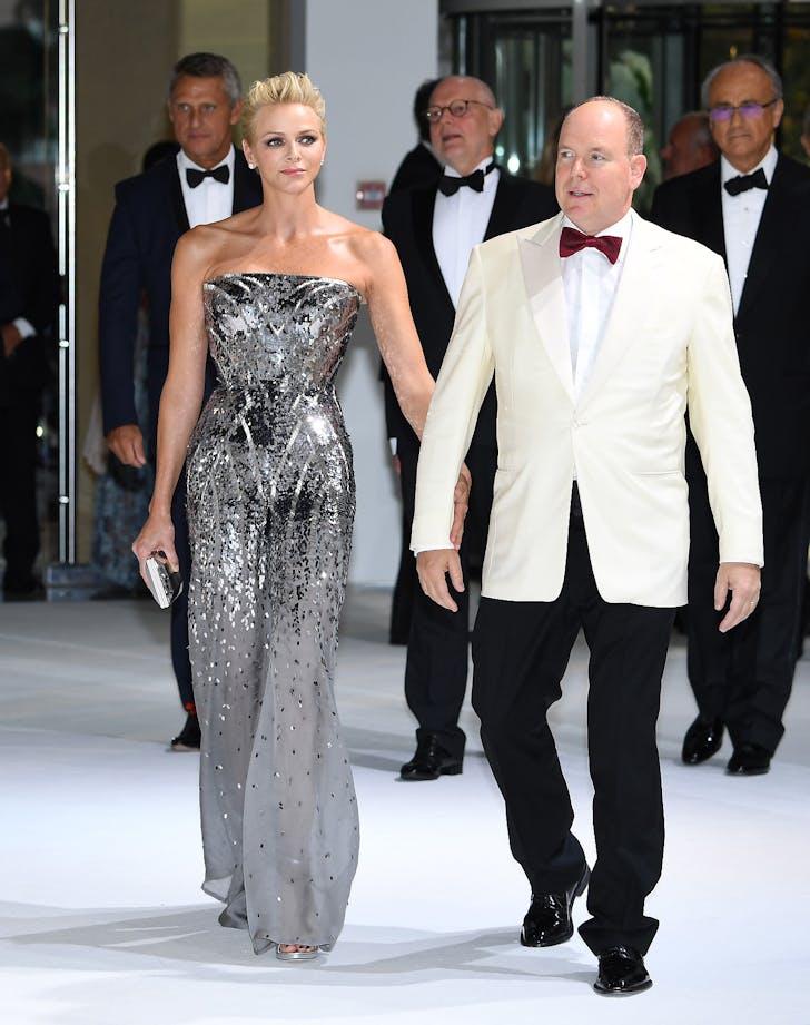 Princess charlene versace jumpsuit