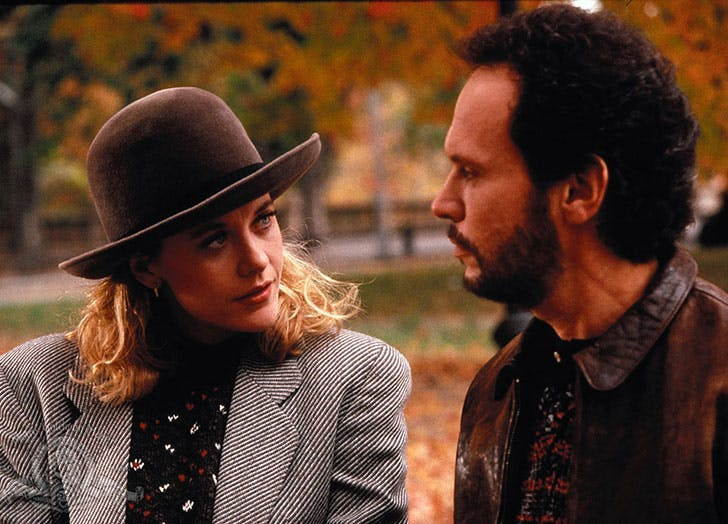 When Harry Met Sally Meg Ryan and Billy Crystal shot