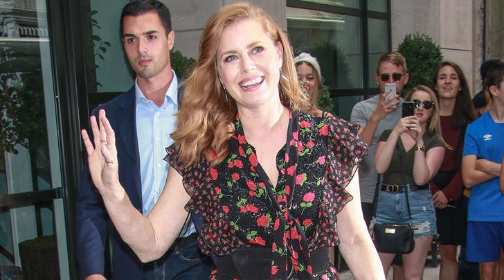 The *Very* Weird Way Amy Adams Lightened the Mood on the Set of 'Sharp Objects