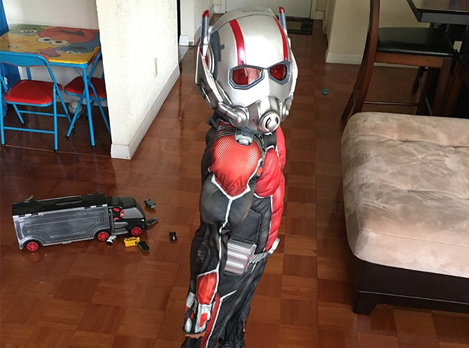 ant man kid costume