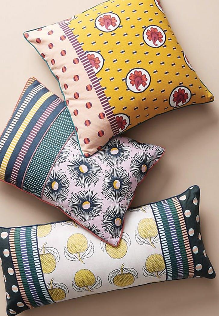 anthropologie suno pillows