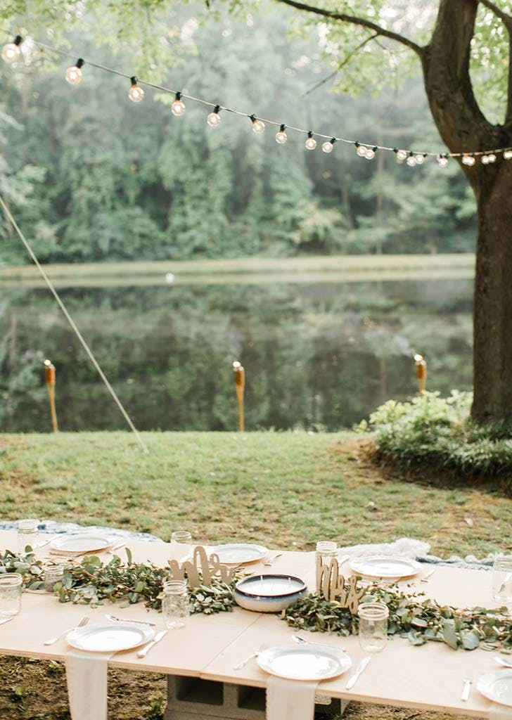backyard micro wedding 12