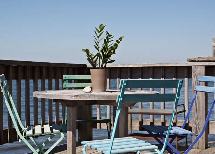 beach front escape water blue Chairs