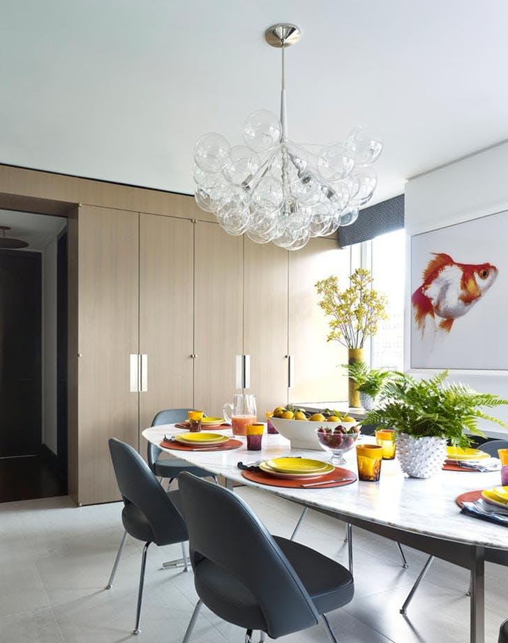 bella mancini yellow kitchen