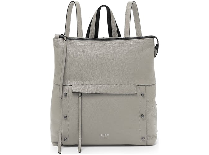 botkier leather backpack in gray