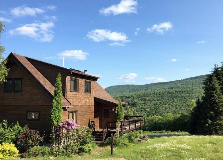 brown cottage grass sky list