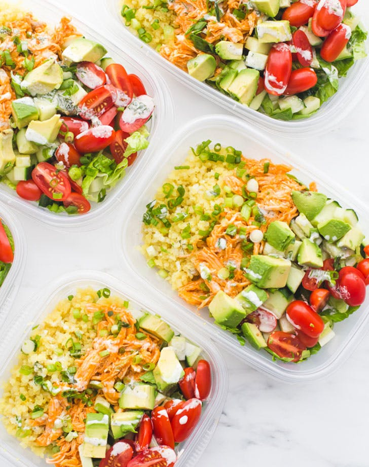buffalo chicken ranch whole30 meal prep reicpe