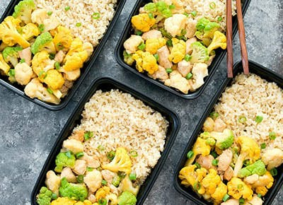 cauliflower stir fry meal prep recipe 290
