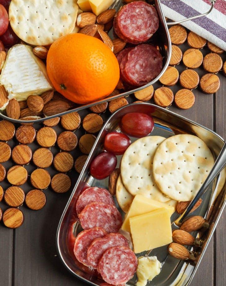 cheese plate bento box recipe
