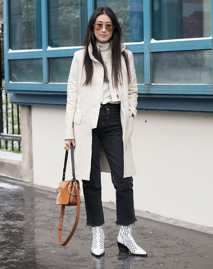 cropped boot cut