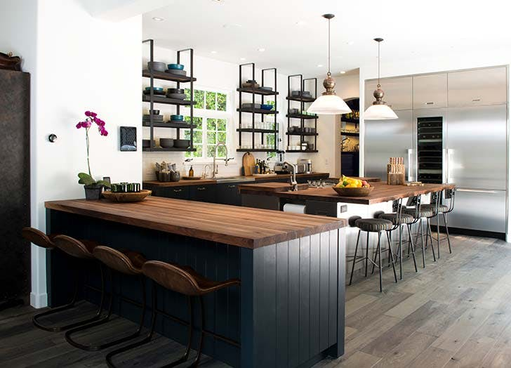double island kitchen double island kitchen trend inspiration purewow 9750