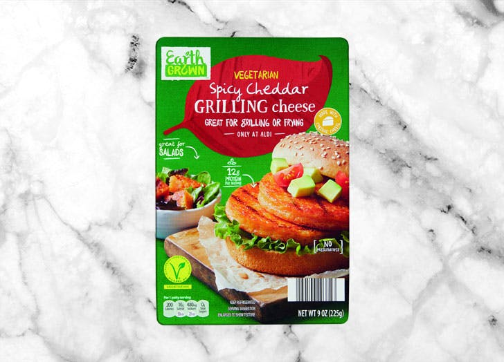 earth grown vegetarian cheddar grilling cheese spicy