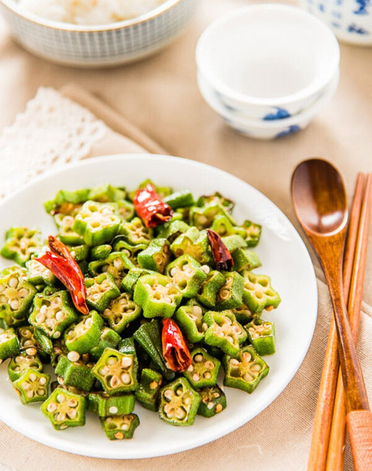 four ingredient okra stir fry recipe