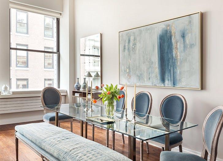 gabriela dining room blue