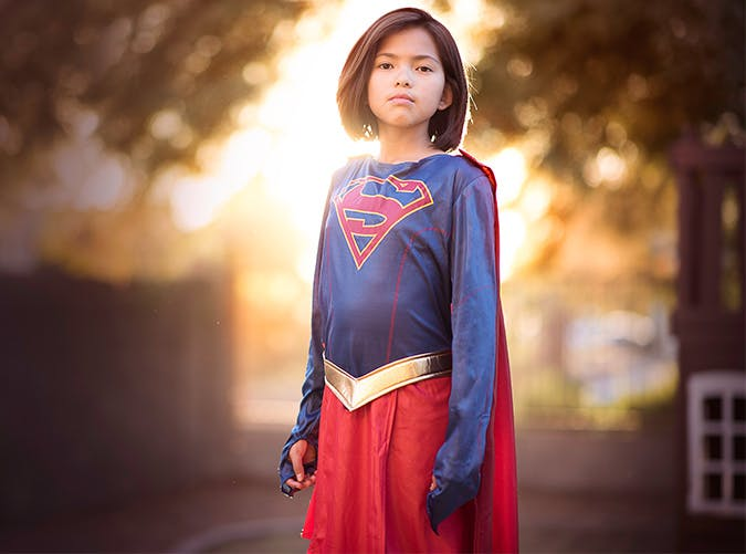 girl supergirl costume