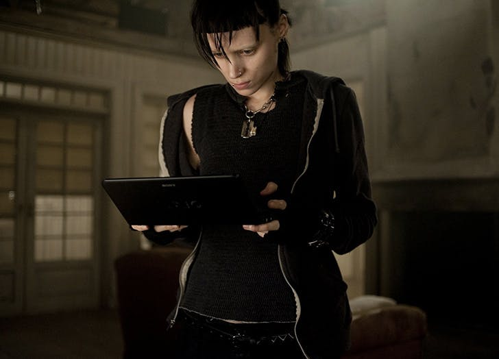 girl with the dragon tattoo  LISBETH