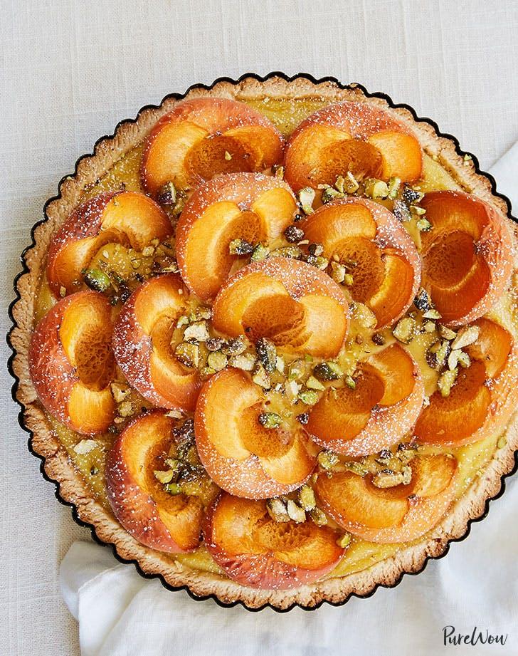 Gluten-Free Pistachio Apricot Tart