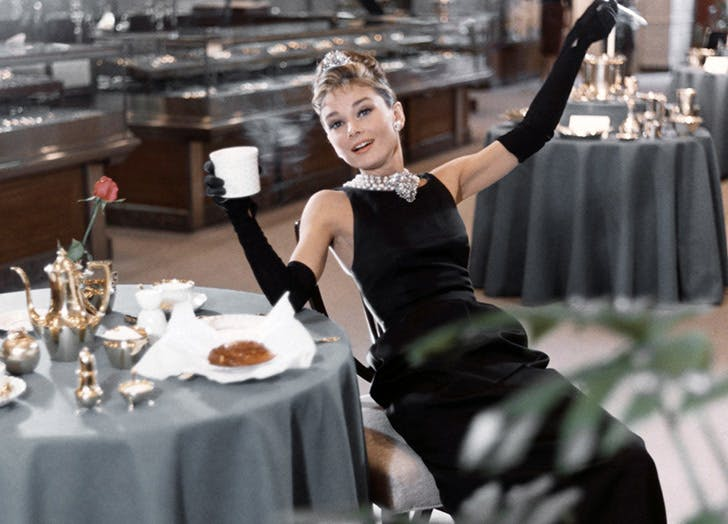 holly golightly breakfast at tiffanys lbd