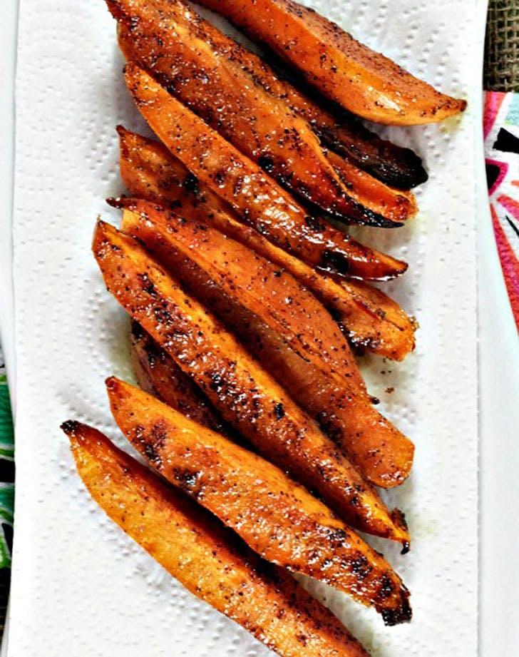 ina garten baked sweet potato fries recipe1