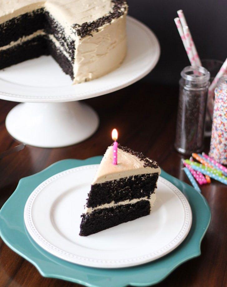 ina garten chocolate cake peanut butter buttercream frosting recipe