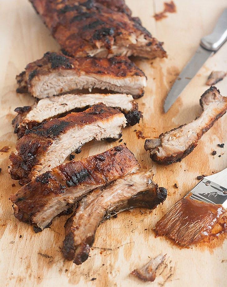 ina garten foolproof ribs homemade barbecue sauce recipe