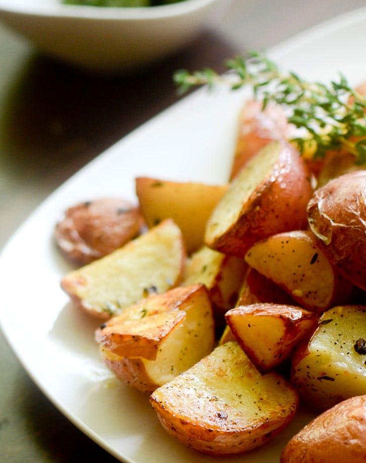 ina garten garlic roasted potatoes recipe