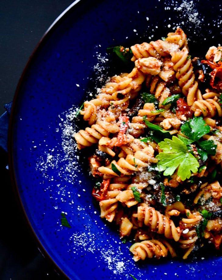 ina garten tomato feta pasta salad recipe