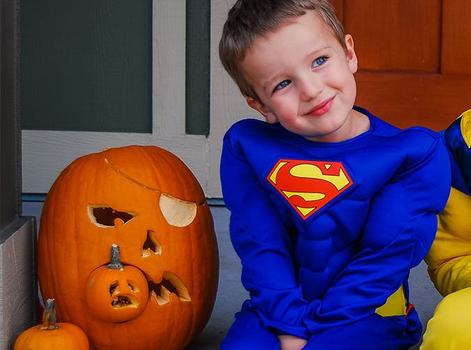 little boy superman costume