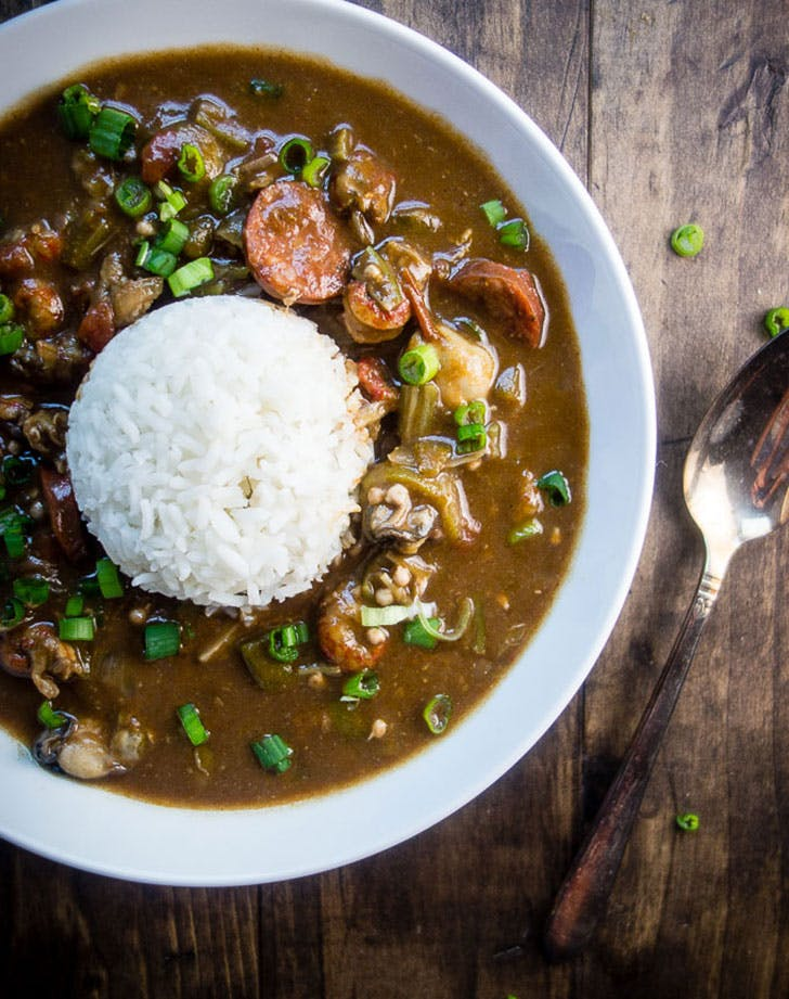 louisiana seafood gumbo okra recipe