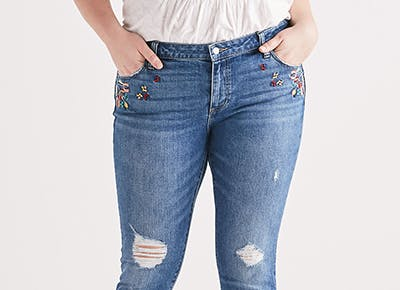 bfc40abe75be0 I Tried Lucky s Plus-Size Denim Line and  Finally  Fell in Love with My  Curves